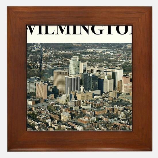 wilmington delaware gifts Framed Tile