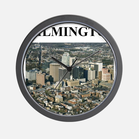 wilmington delaware gifts Wall Clock