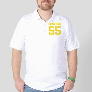 POWERS YELLOW Golf Shirt