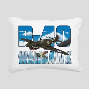 p40tshirt Rectangular Canvas Pillow