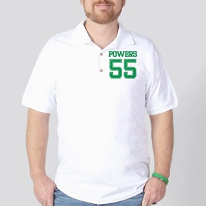 POWERS GREEN Golf Shirt