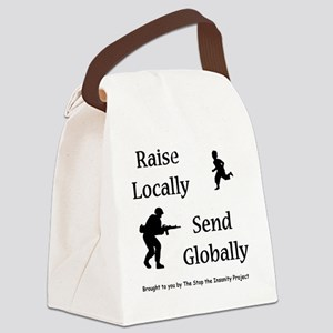 raiseandsend Canvas Lunch Bag