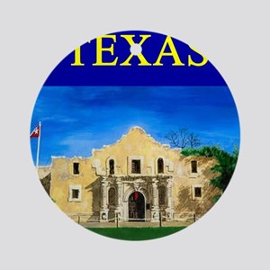 texas alamo gifts t-shirts Ornament (Round)