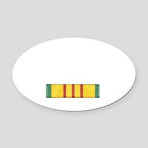 vietnam_10x10_apparel Oval Car Magnet