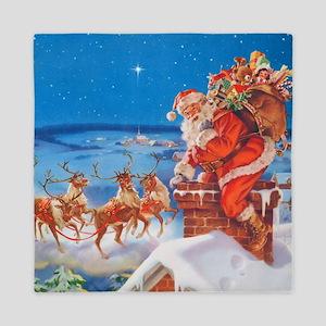 Santa Claus 60_SQ Queen Duvet