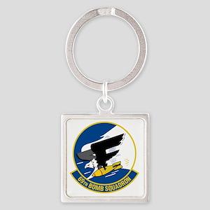 69th Bomb Squadron Square Keychain