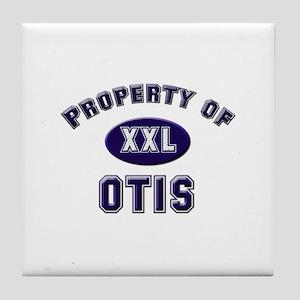 Property of otis Tile Coaster