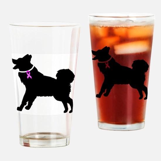 Malmute.eps Drinking Glass