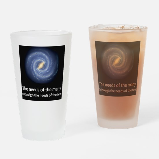 1treck3 space Milky_Way Drinking Glass
