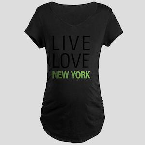 liveNY Maternity Dark T-Shirt