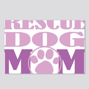 Rescue-Dog-Mom Postcards (Package of 8)