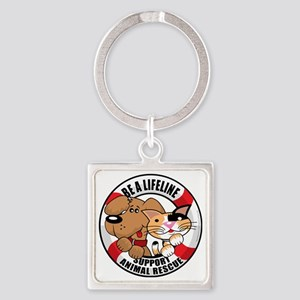Life-Perserver-2010 Square Keychain
