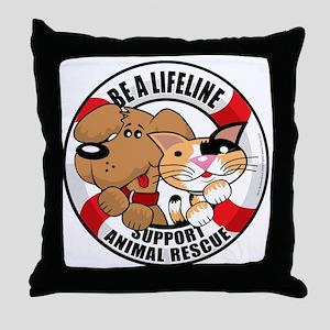 Life-Perserver-2010 Throw Pillow