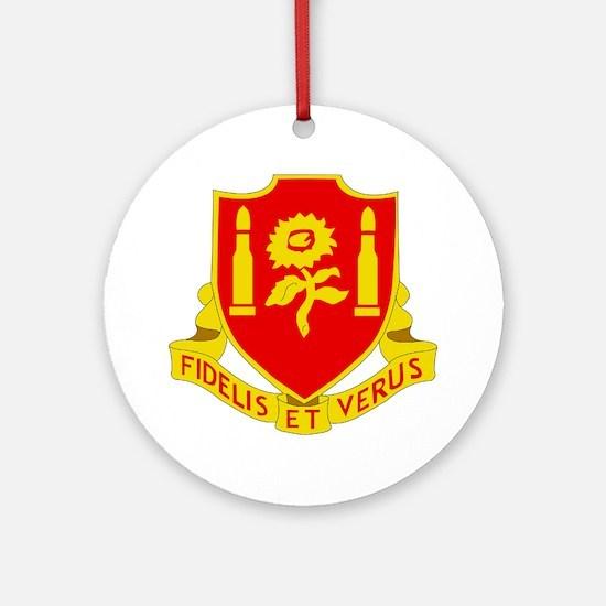 dui-29th field artillery regiment Round Ornament