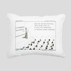 101108.IT_CLE Rectangular Canvas Pillow