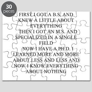 PHD Puzzle