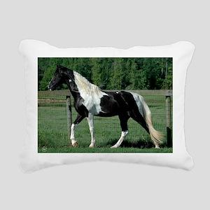spots_Lg_framed Rectangular Canvas Pillow