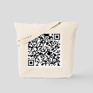 QR Code - Buy This Shirt Tote Bag