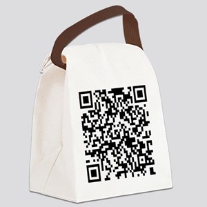 QR Code - Buy This Shirt Canvas Lunch Bag