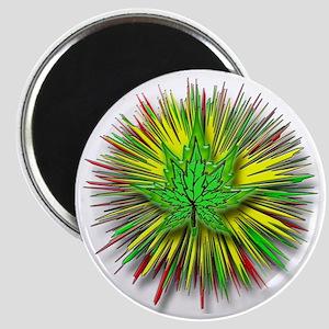 RYG glo leaf Magnet