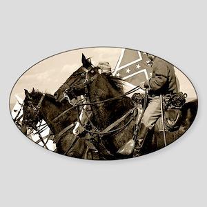 civilwar_panel Sticker (Oval)