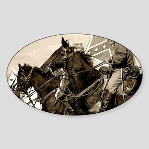civilwar_calendar Sticker (Oval)