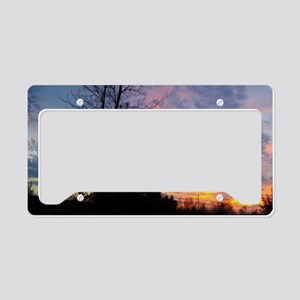octsunset License Plate Holder