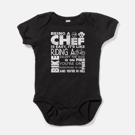 Being A Chef Is Easy T Shirt Body Suit