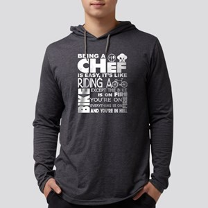 Being A Chef Is Easy T Shirt Long Sleeve T-Shirt
