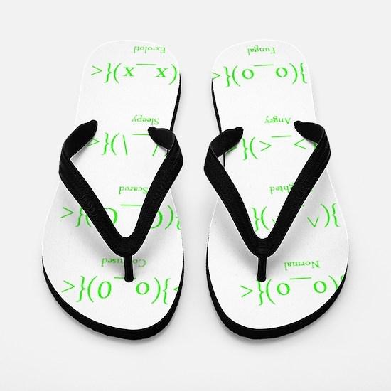 neotenicdarkshirt Flip Flops