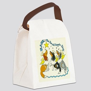 Bark the Herald Canvas Lunch Bag