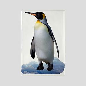 Penguin Rectangle Magnet