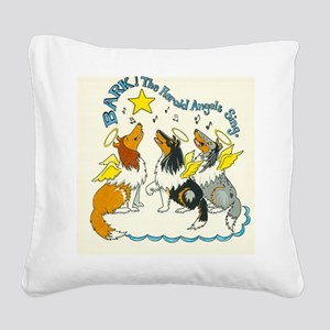 Bark the Herald Square Canvas Pillow