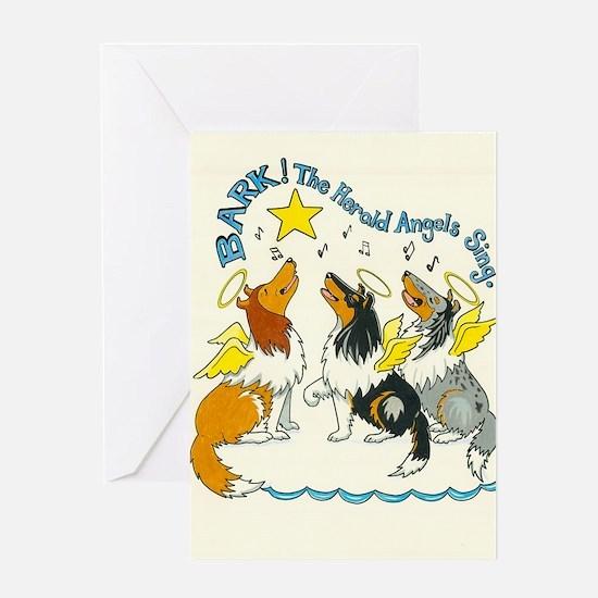 Bark the Herald Greeting Card