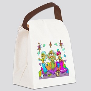 BellyKittens_three_Apron Canvas Lunch Bag