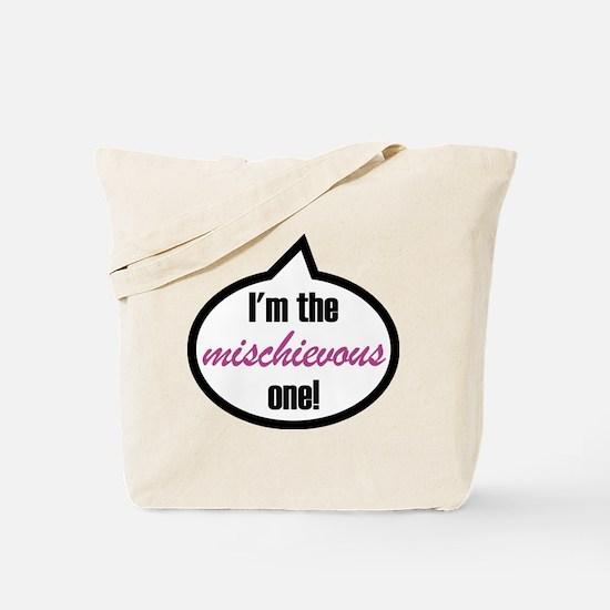 Im_the_mischievous Tote Bag