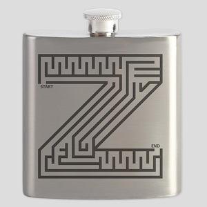 maze_letter_z_for_white Flask