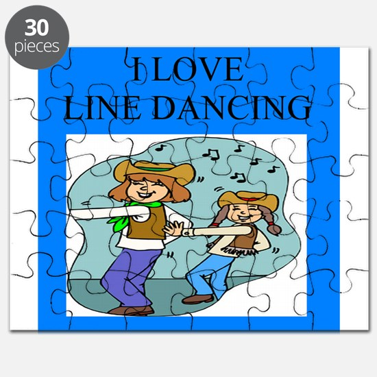 funny dance dancing joke line country music Puzzle