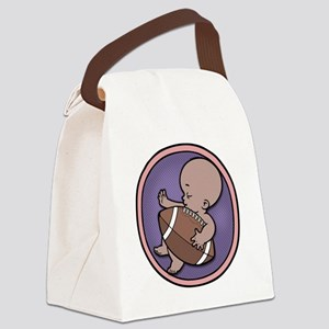 football-wombie-DS-T Canvas Lunch Bag