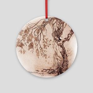 Treeshifter tshirt design Round Ornament