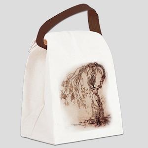 Treeshifter tshirt design Canvas Lunch Bag