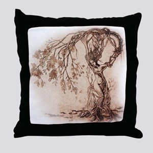 Treeshifter tshirt design Throw Pillow