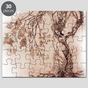 Treeshifter tshirt design Puzzle