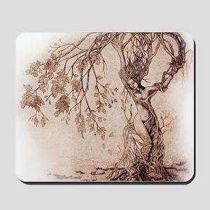 Treeshifter tshirt design Mousepad