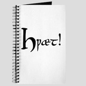 Hwaet! Journal