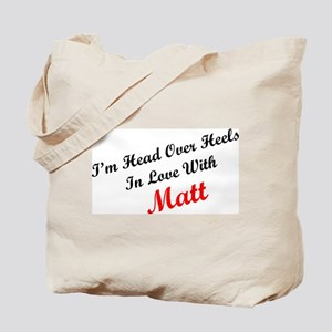 In Love with Matt Tote Bag