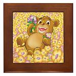 Bailey's Framed Tile