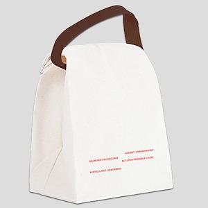 TSA The Law Canvas Lunch Bag