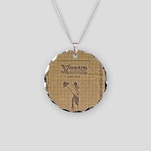 vogue Necklace Circle Charm