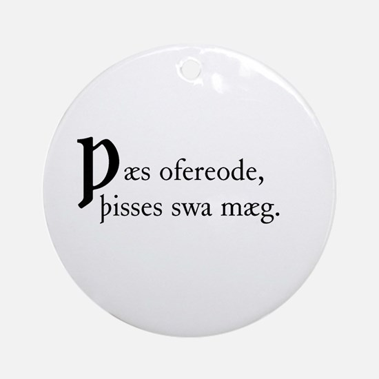 Thaes Ofereode Ornament (Round)